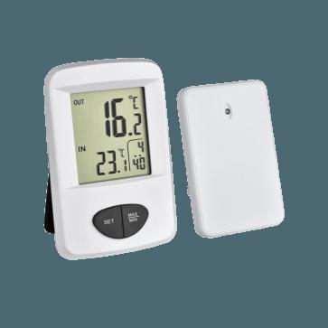 TFA 30.3061.02 - Base Thermometer met draadloze buitensensor