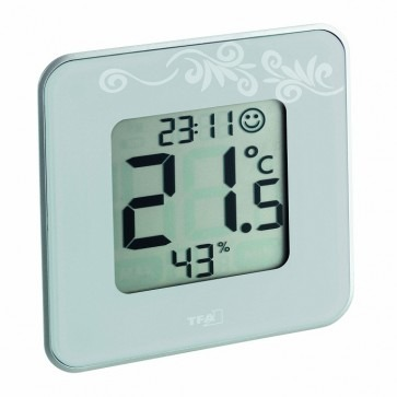 TFA 30.5021.02 - Style,  Wit  Thermo-/hygrometer