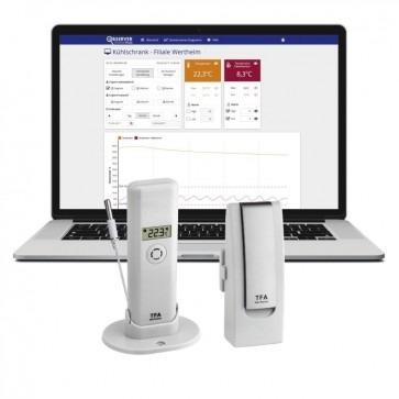 TFA 31.4011.02 - Thermometer met gateway Geschikt voor Weatherhub Observer online monitoring