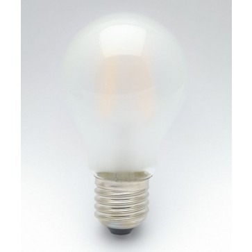 "Bio-Licht - ""Filament""  E27 - 6.4W - Melkglas Energiezuinige en knipperarme LED lamp"