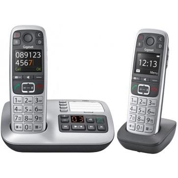 Gigaset E560A DUO - Stralingsarme DECT DECT telefoon met antwoordapparaat en extra handset