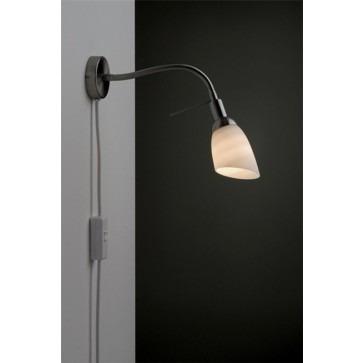 Danell 41-8904- wandlamp Afgeschermde wandlamp met snoerschakelaar