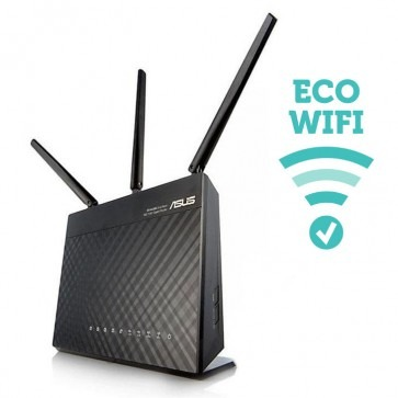 Stralingsarme router ECO-WiFi-05AC Stralingsarme router