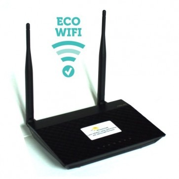 Stralingsarme router ECO-WiFi-01A Stralingsarme router