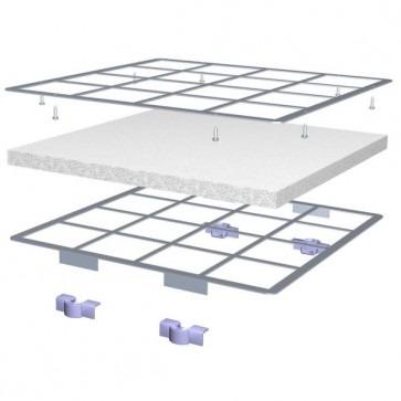 IQAir PF40 voorfilter kit Voorfilter montagekit incl. 3 filters