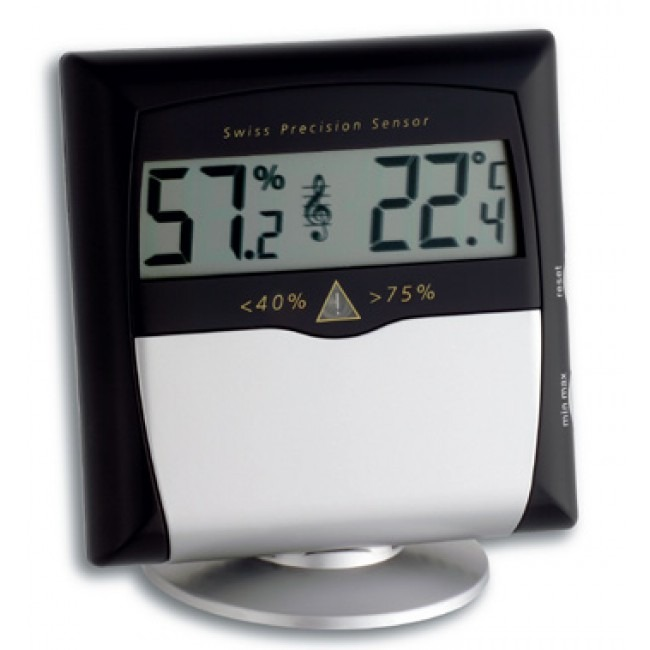 tfa musicontol thermo hygrometer. Black Bedroom Furniture Sets. Home Design Ideas
