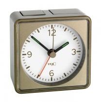 TFA 60.1016.08 - wekker (beige-metallic)
