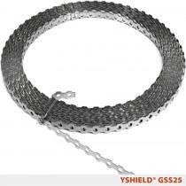 YSHIELD GSS25 Aardingsband, r.v.s.