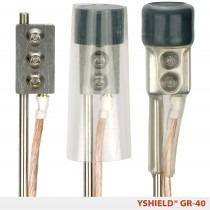 YSHIELD Aardingspen - 40 centimeter